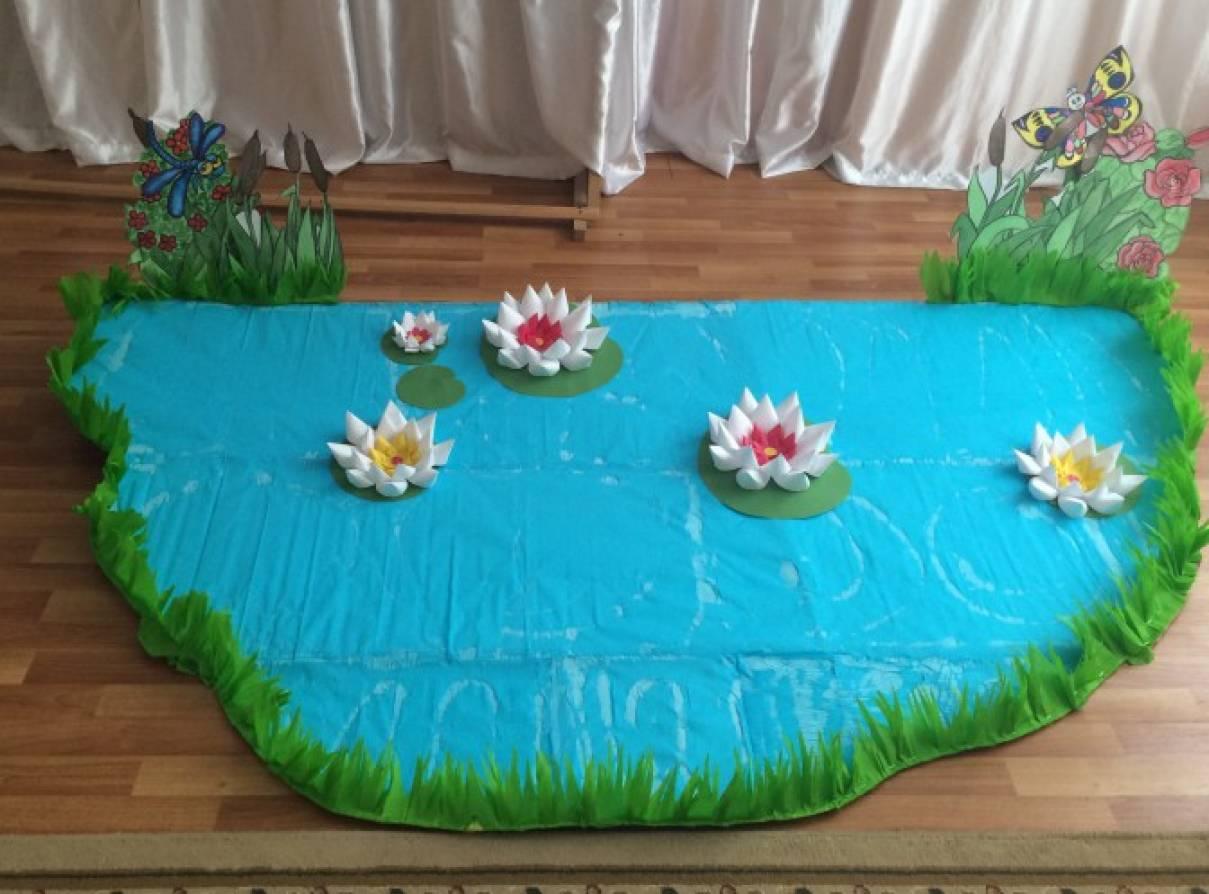 Из чего сделать озеро в поделках
