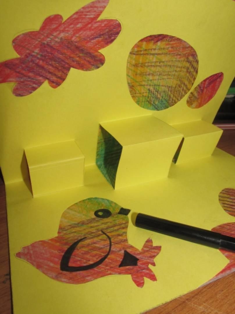 Открытки для мамы своими руками карандашами