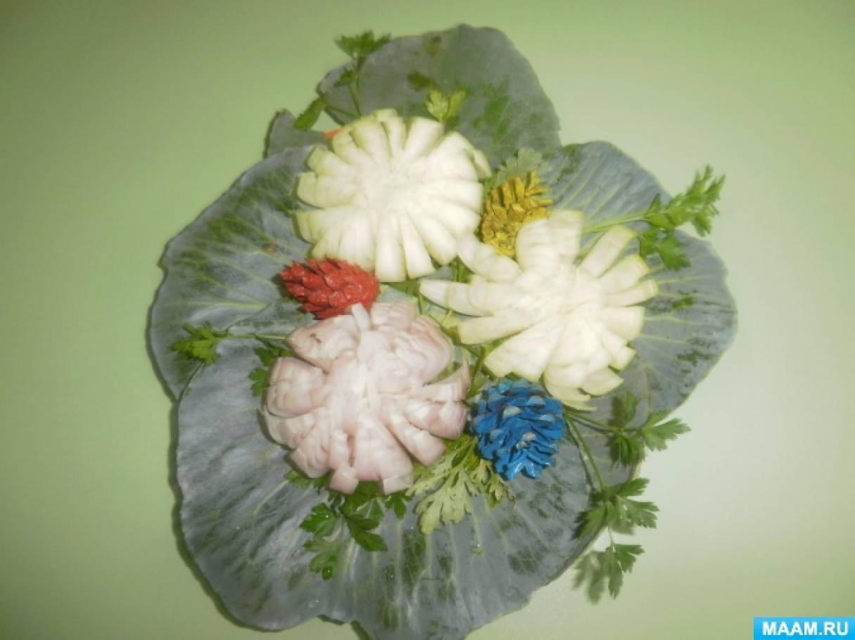 Фотоотчет о конкурсе поделок из овощей, фруктов, цветов и природного материала «Осенние фантазии»