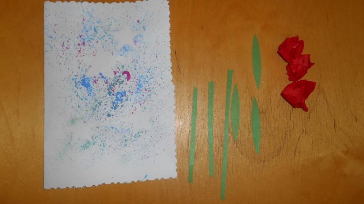 Цветы для папы открытка, открытка февраля