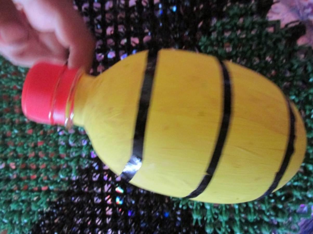 Вантуз из пластиковой бутылки