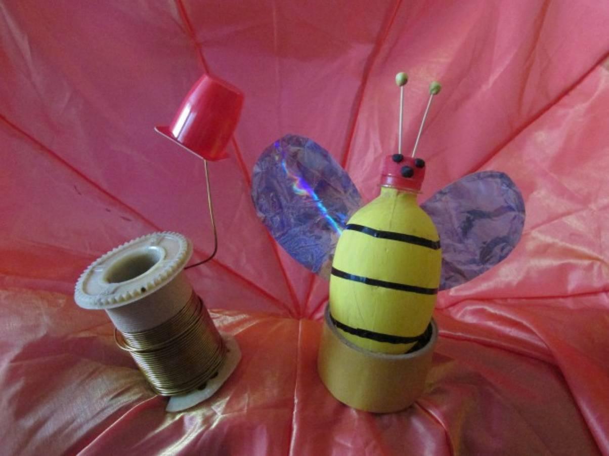 Изготовление из пластиковых бутылок поделок