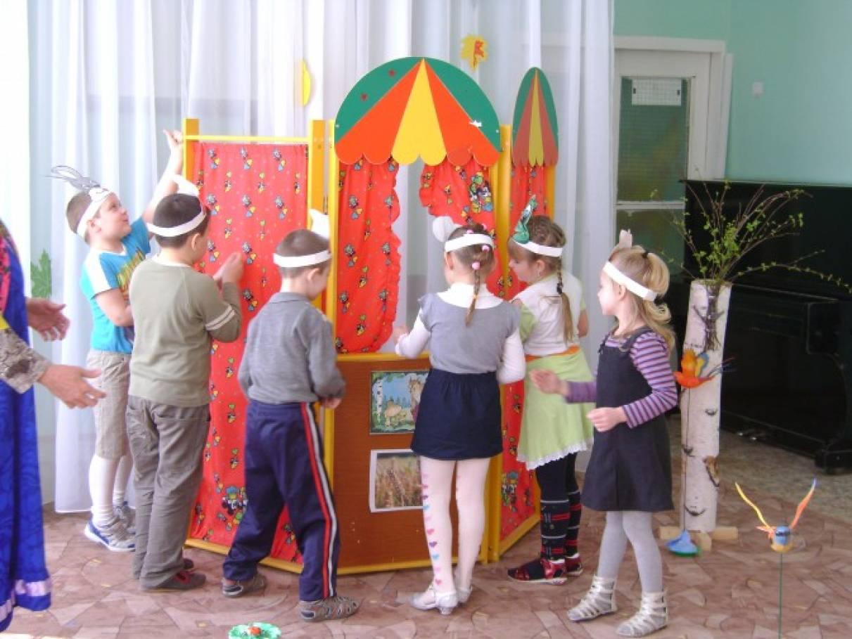 Картинки по театрализованной деятельности в саду