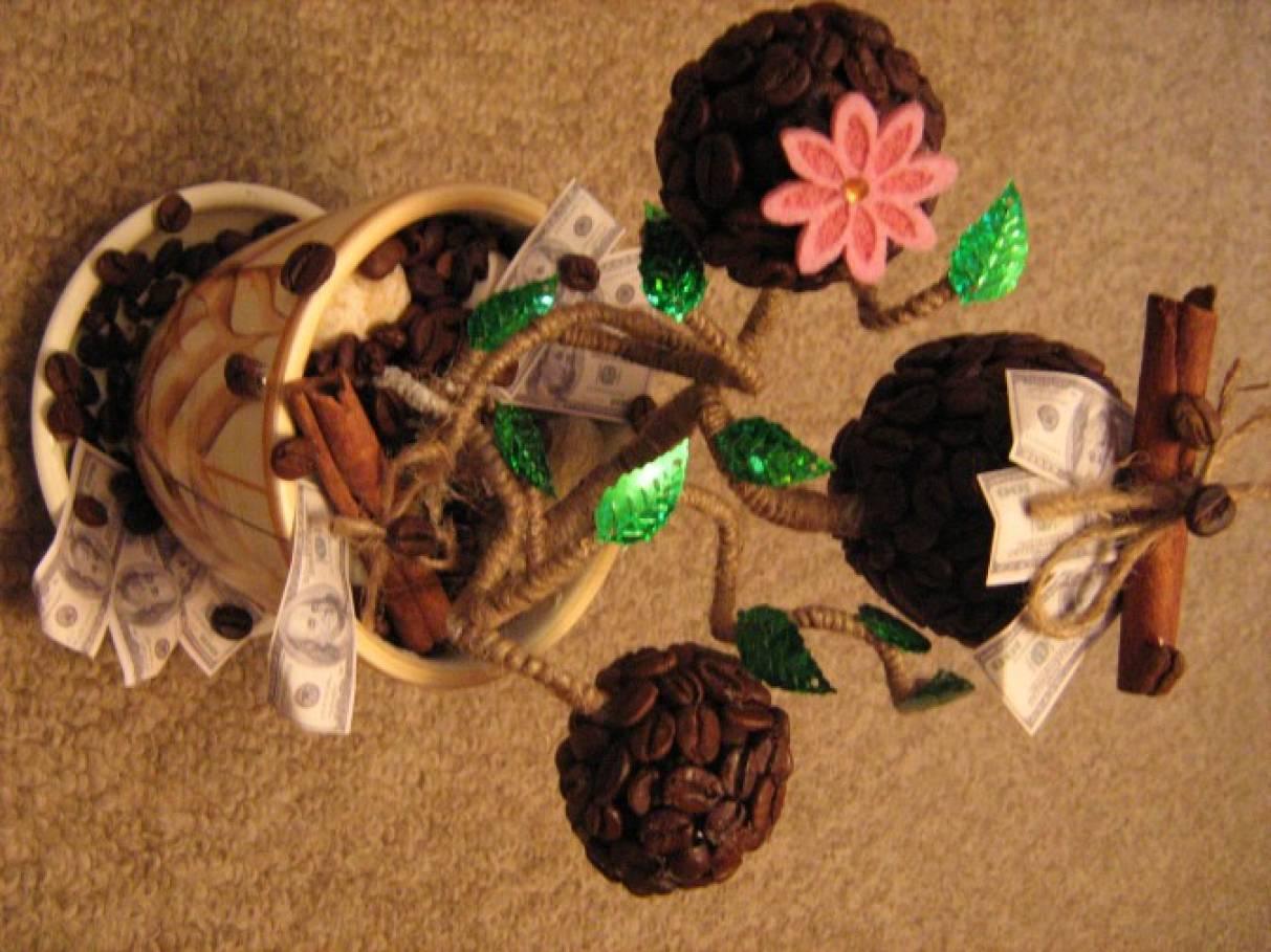 Поделки из семян кофе своими руками фото 72