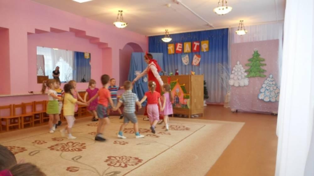 Театрализованная игра с элементами кукольного театра: «Путешествие в сказку Теремок» в рамках недели театра.
