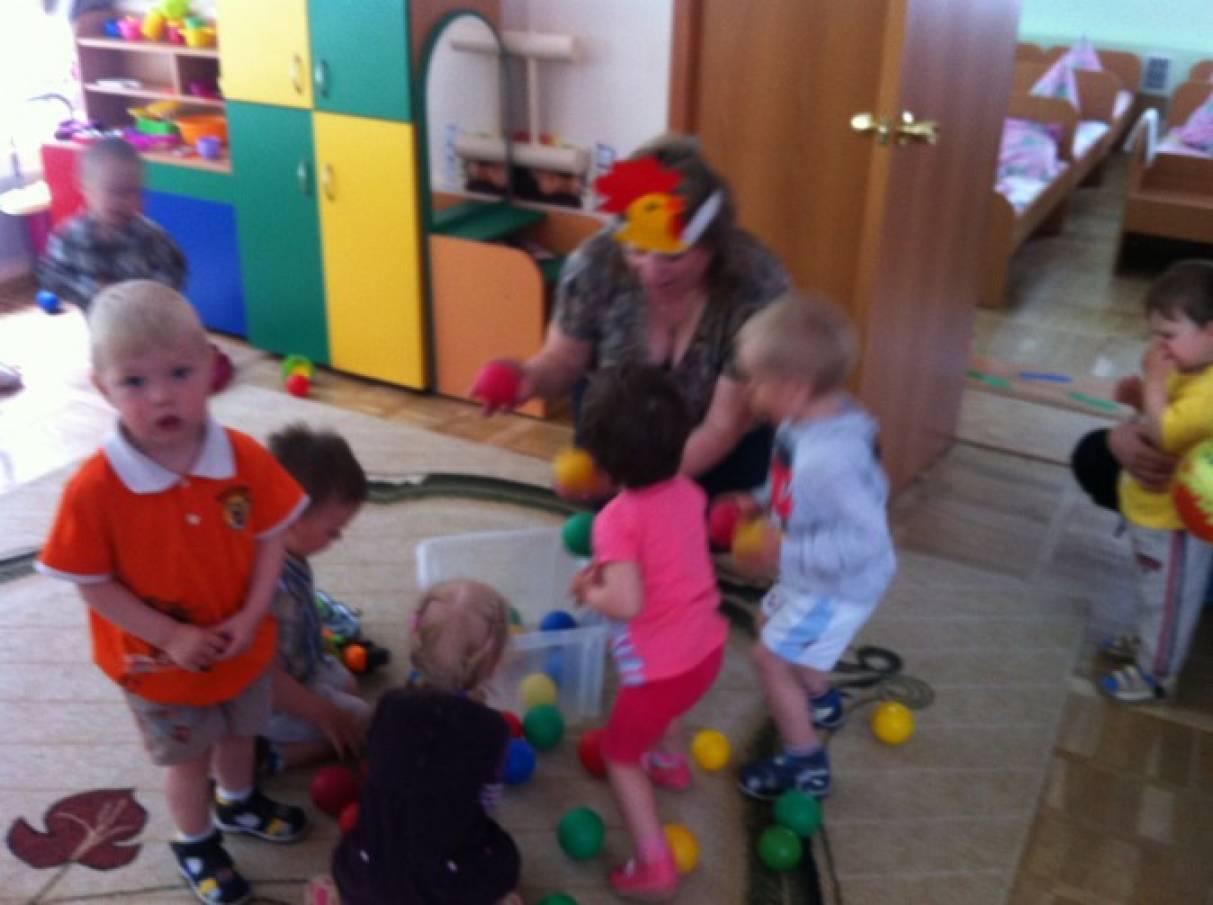 Подвижные игры в детском саду для