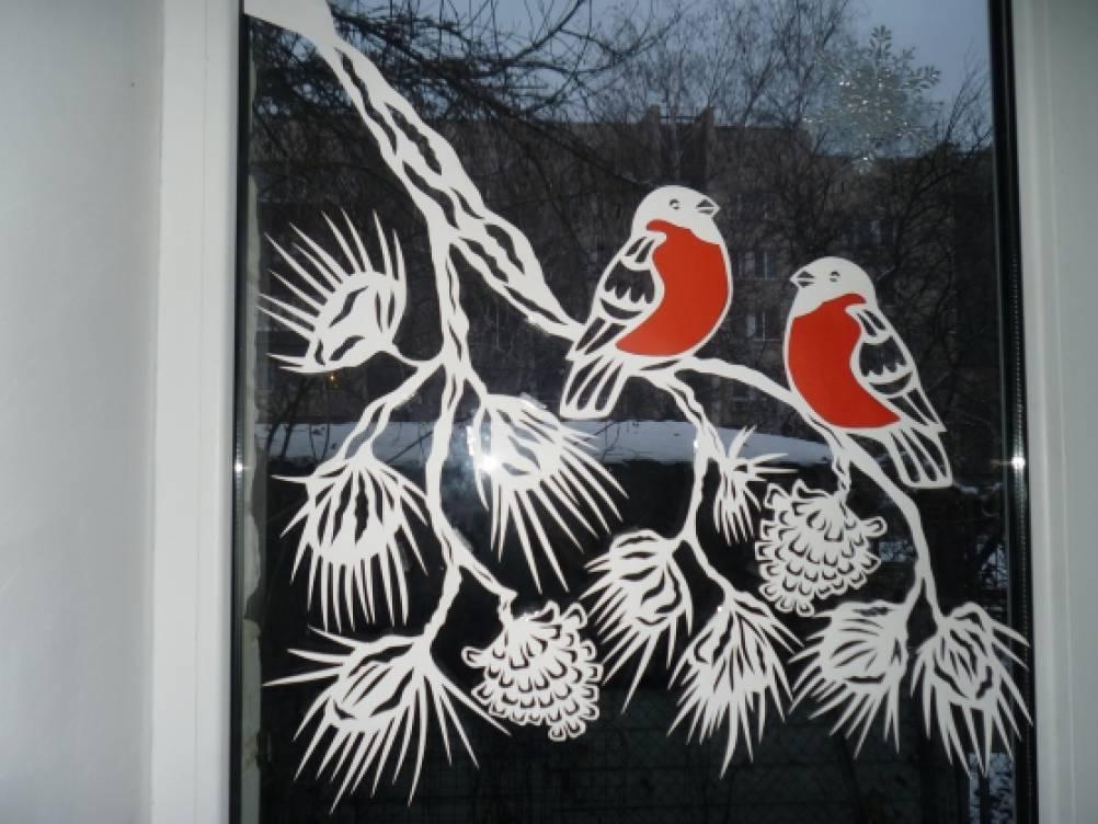 красивые картинки веток деревьев вырезать из бумаги на окно татуировки военные