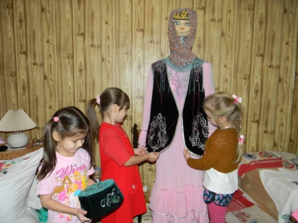 знакомство детей с татарским народом