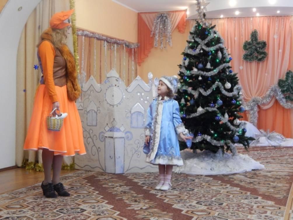 Сценарий новый год со снегурочкой для детского сада