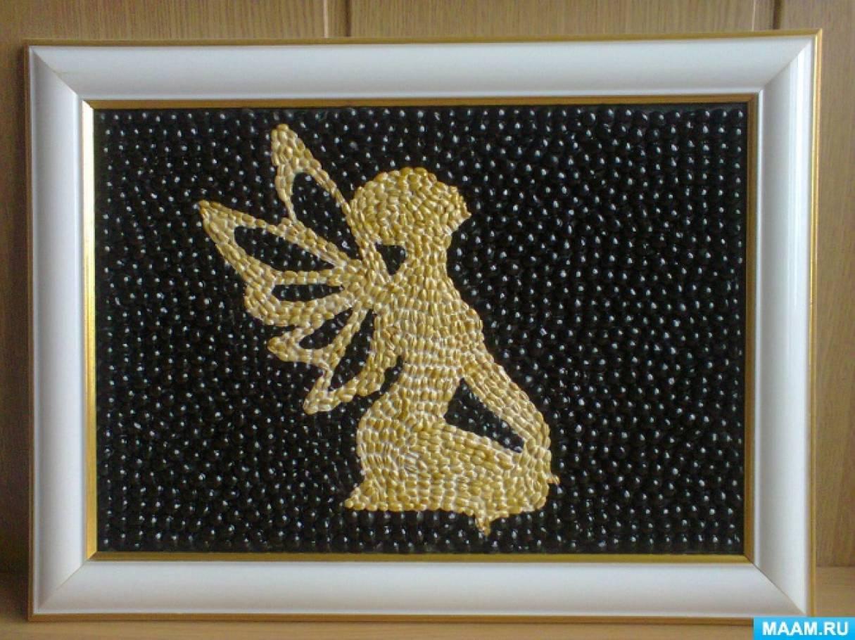 Картины из зерен и семян своими руками 73