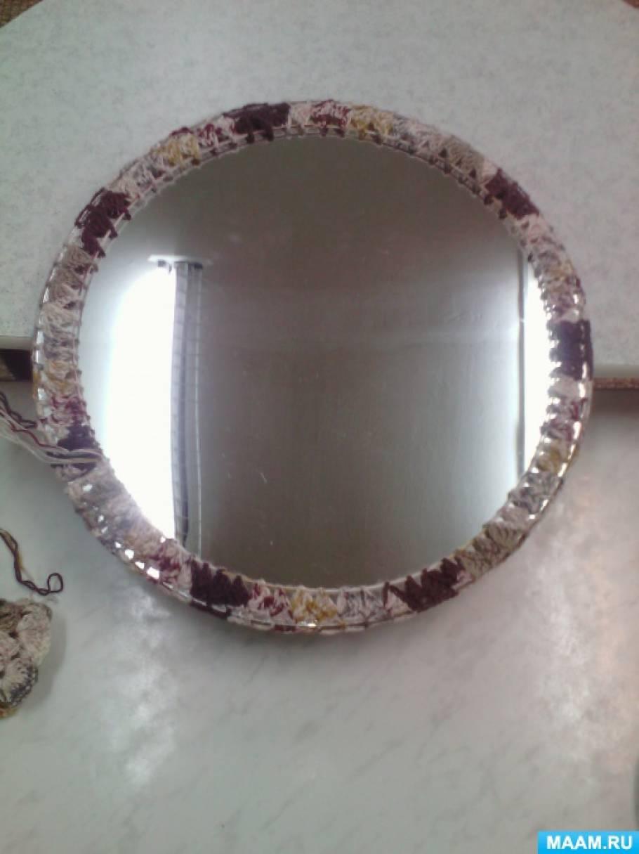 Обновление старого зеркала своими руками 95