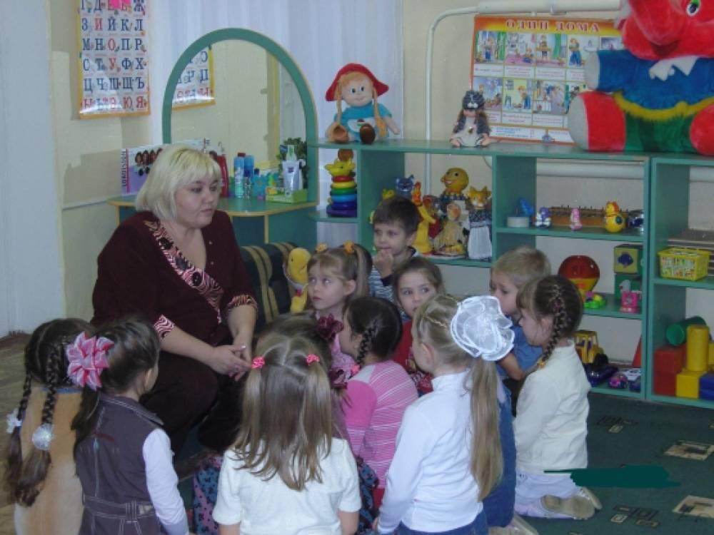 конспект занятия знакомим детей с профессиями