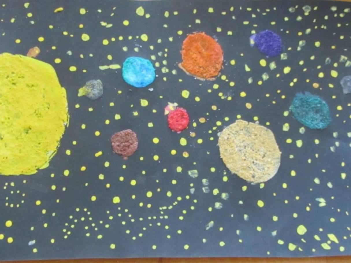 Картинки средняя группа космос