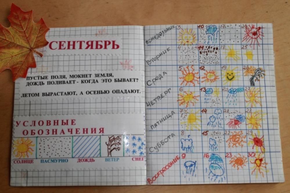 Вязание дневники с календарем
