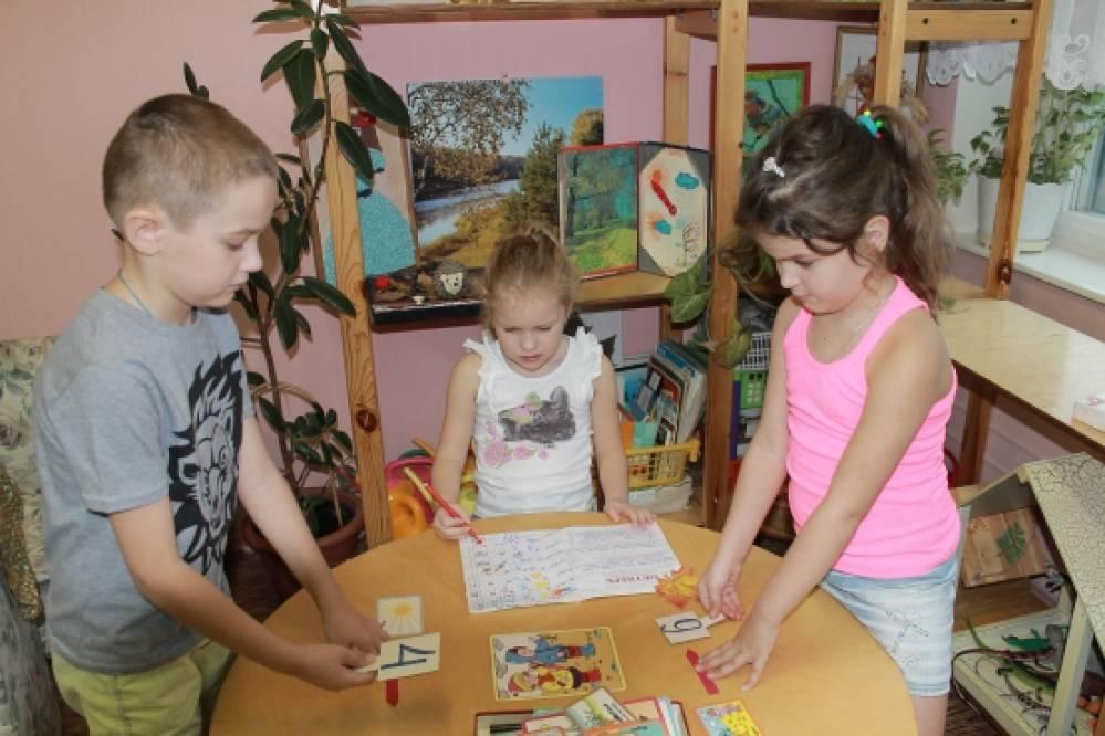 фото игровых зон в группах детского сада