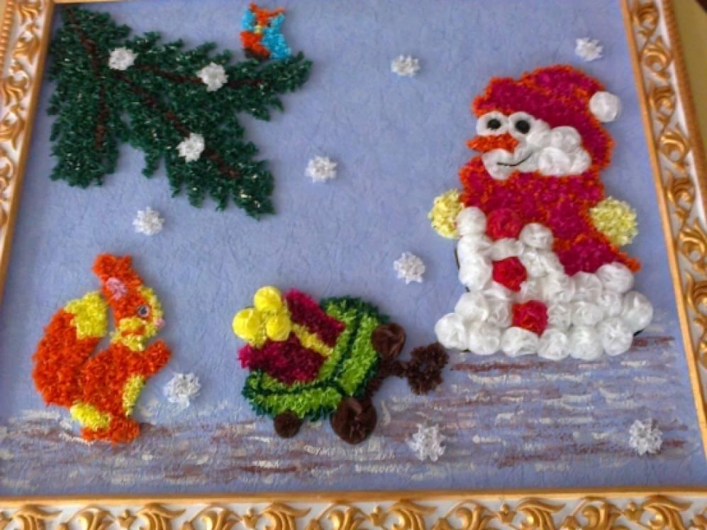 Картинки для стенда времена года зима