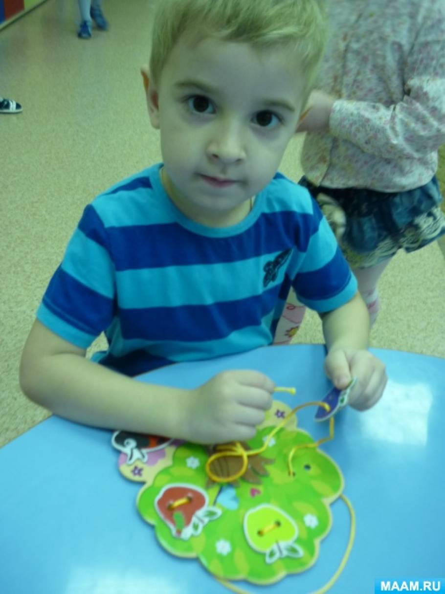 Настольные игры в детском саду