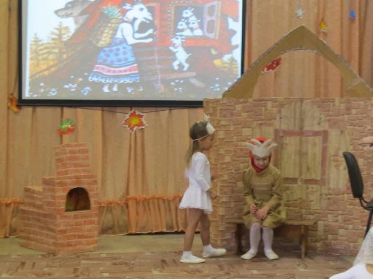 знакомить детей с русской народной сказкой