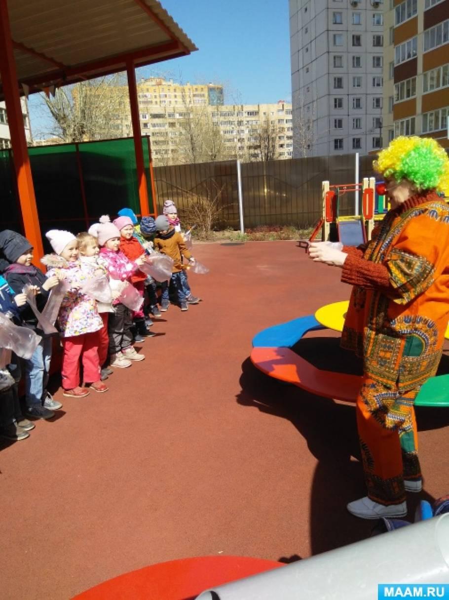 Проектная деятельность «Воздух и его свойства» для дошкольников старшего возраста