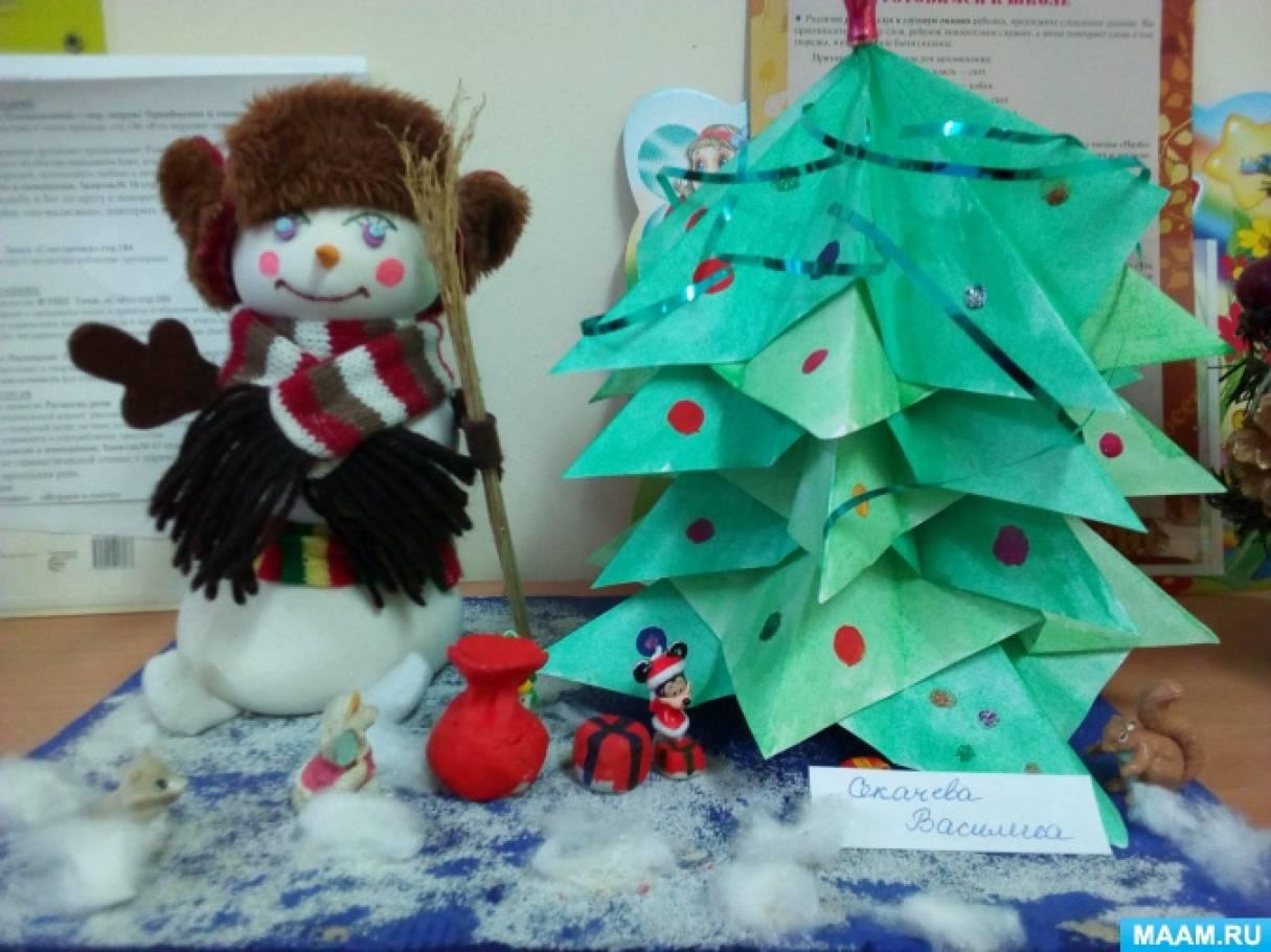 Фотоотчёт о конкурсе «Лучший снеговик»