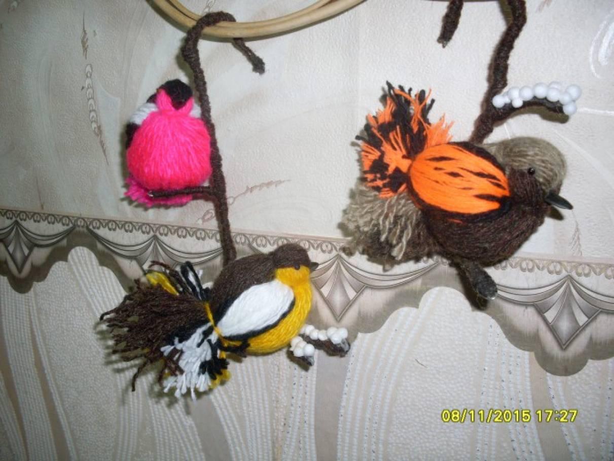 Мастер класс по изготовлению птичек