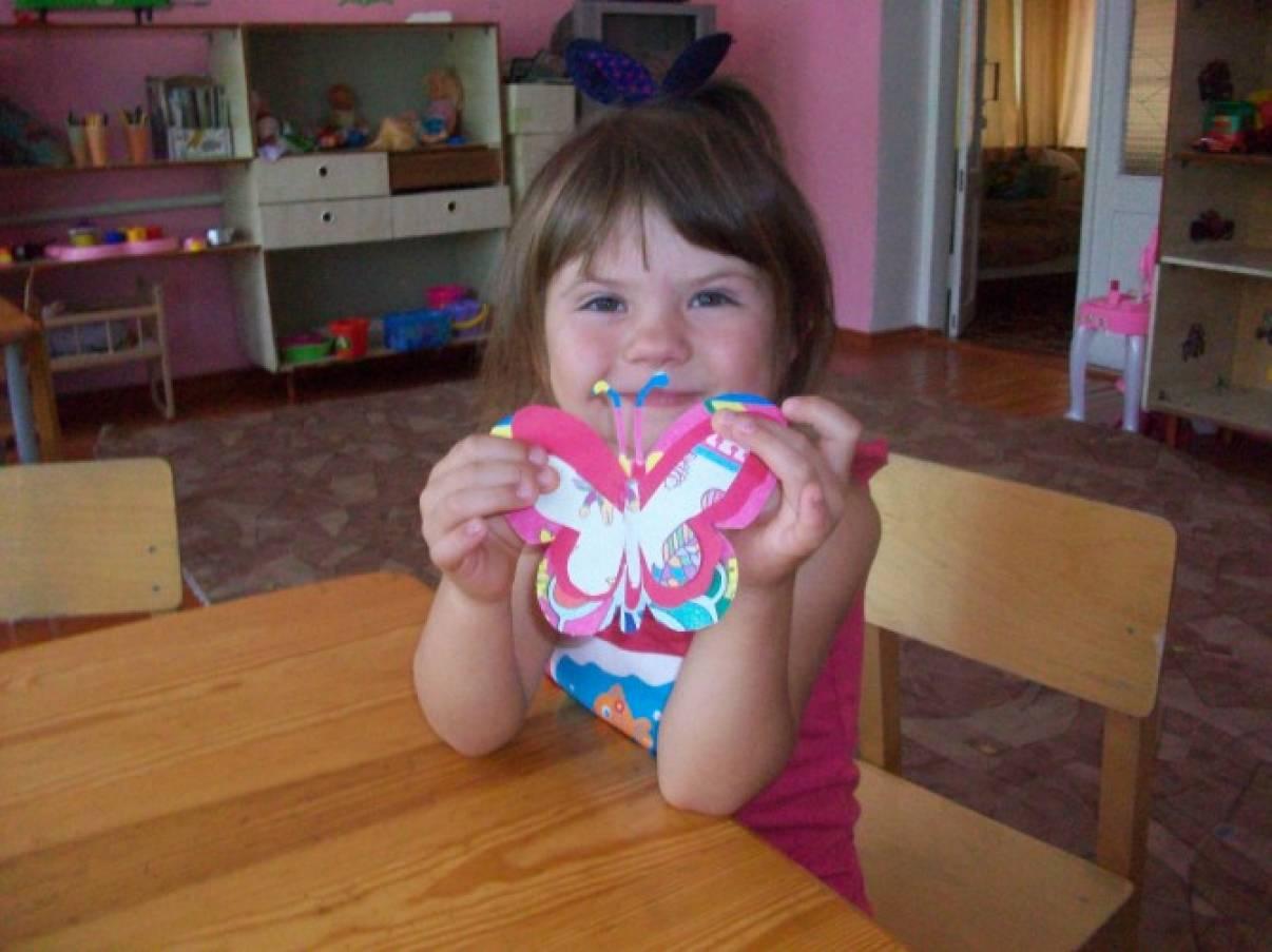 Открытки своими руками бабочка