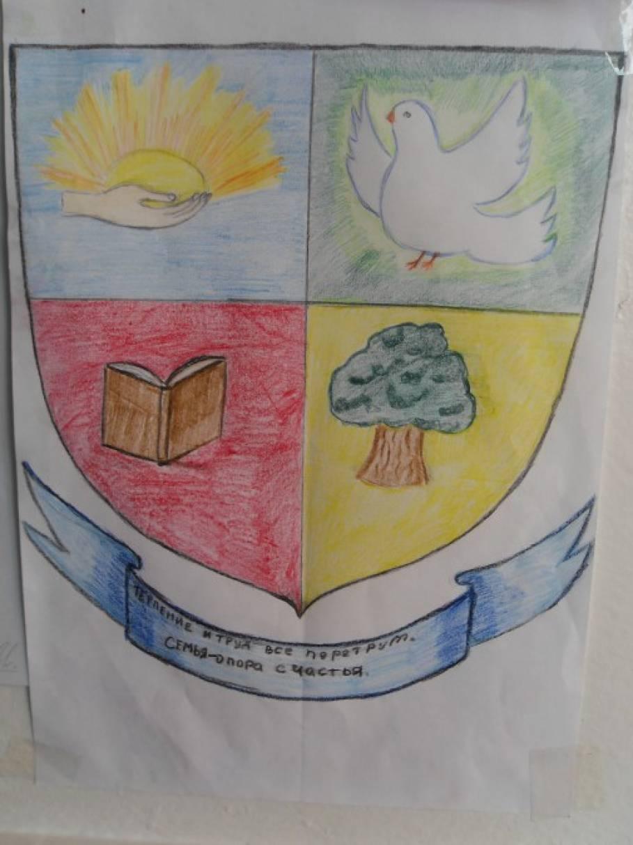 Нарисовать личный герб фото