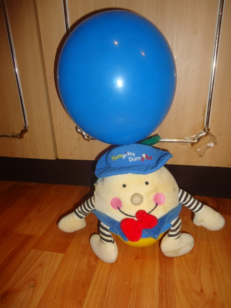 Мамина школа НОД «Воздушный шарик (синий цвет и овал)» для деток от 9 мес-1.5 г.