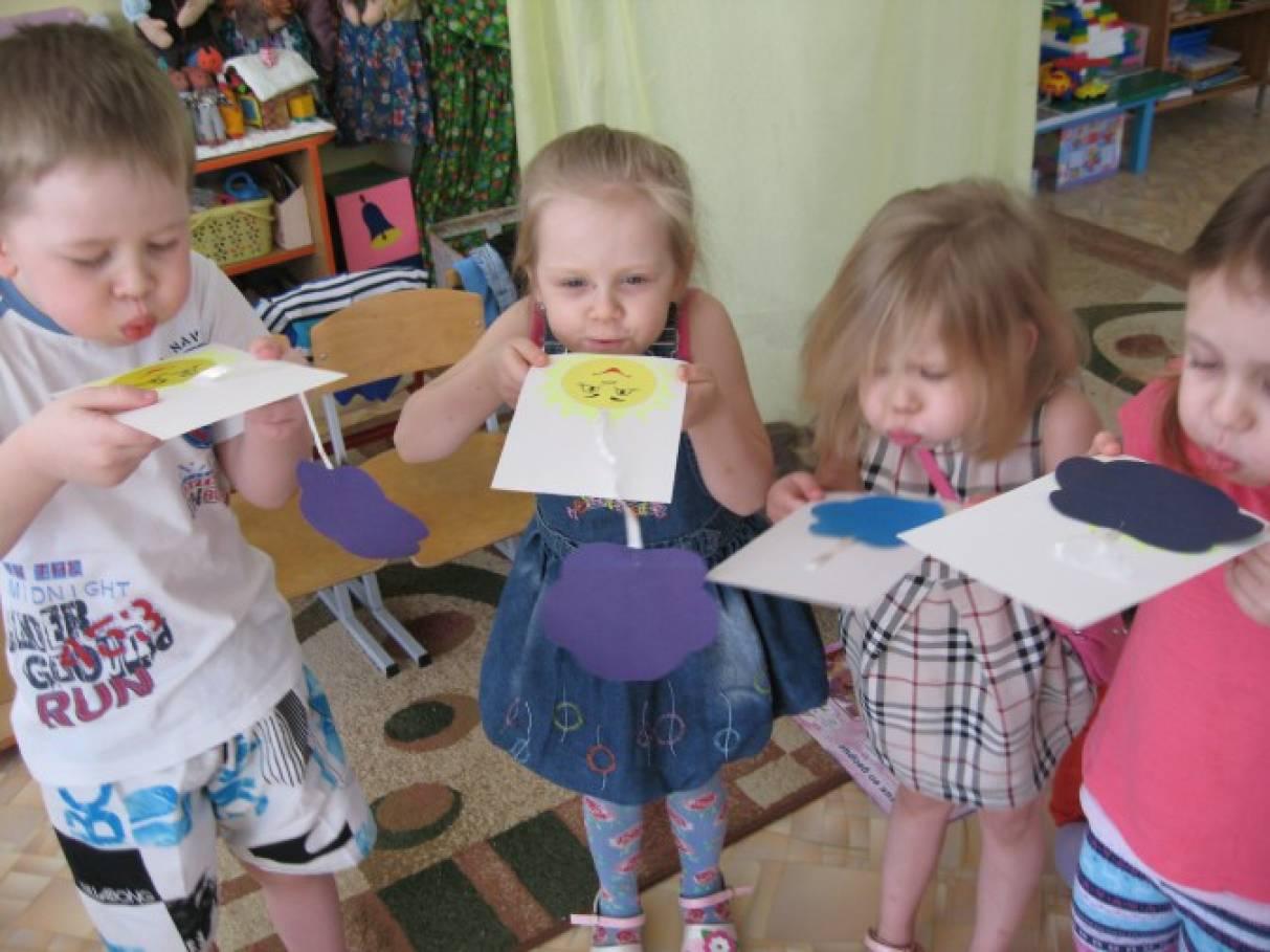 Пособия для дыхательной гимнастики в детском саду своими руками