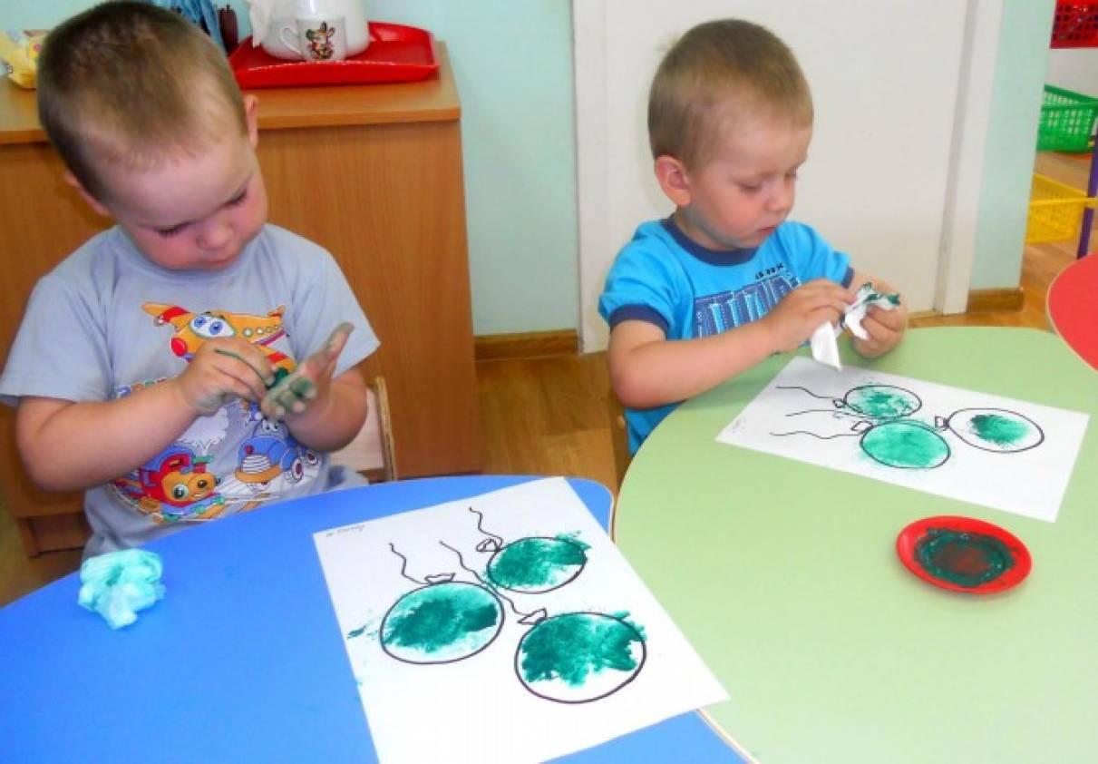 Конспекты открытых занятий во второй младшей группе детского сада по изо