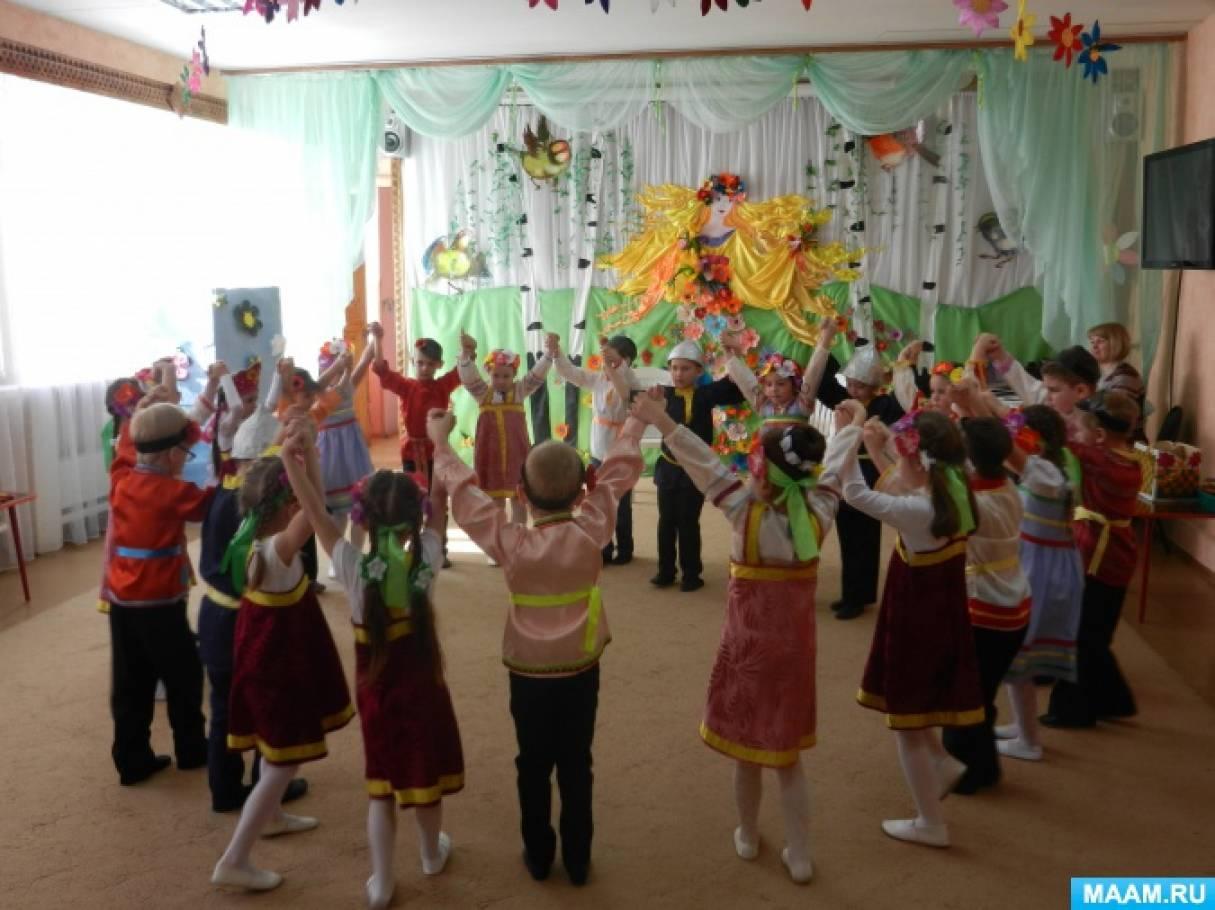 Фотоотчёт «Весенние танцы»