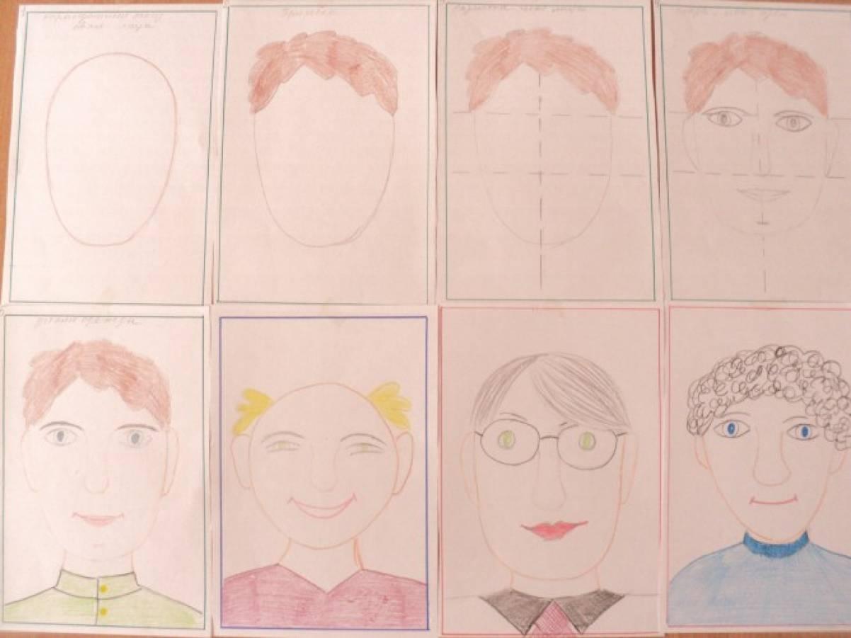 Картинки занятий в старшей группе по рисованию