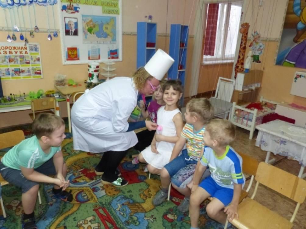 знакомство дошкольников с профессиями конспект