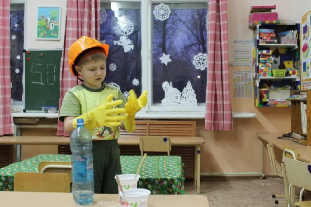 знакомство в доу детей с профессиями