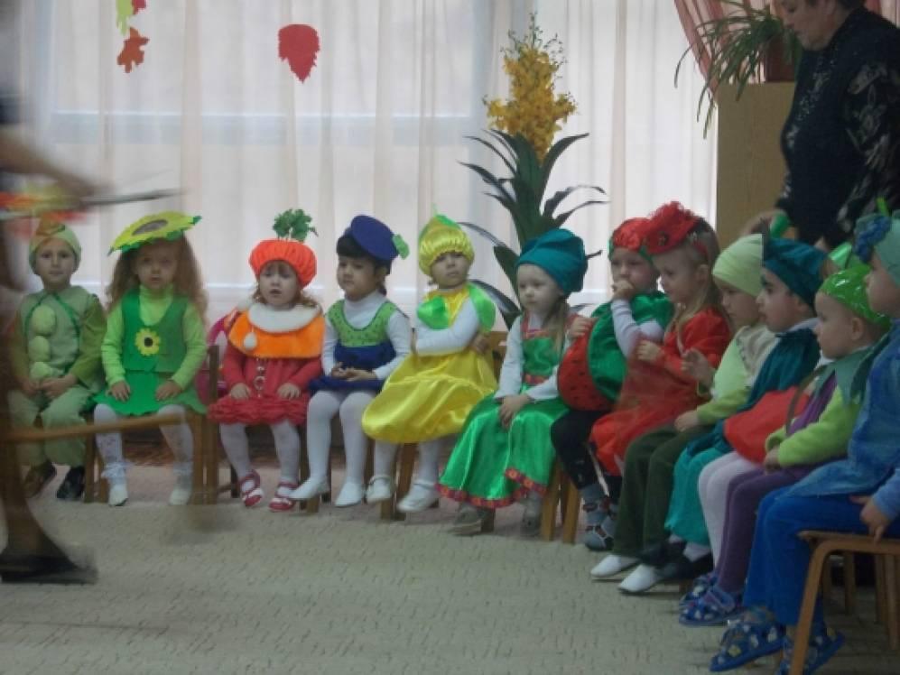 Развлечение для детей средней группы «Дары осени»