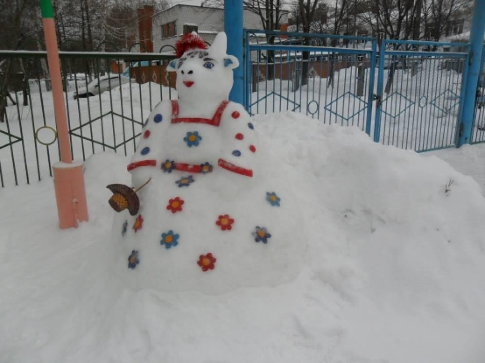 «Хорошо у нас в саду!» Фотоотчет о конкурсе зимних участков