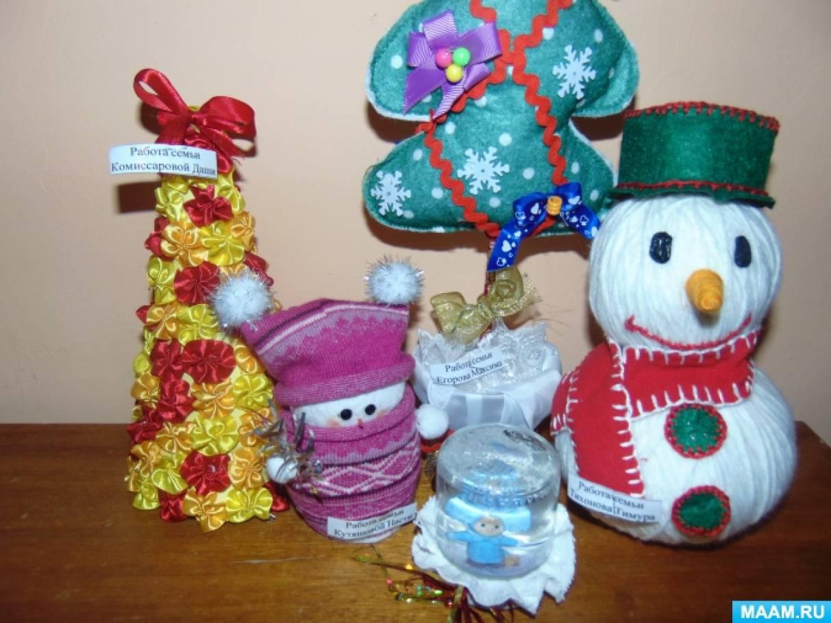 «Сундучок Деда Мороза» (фотоотчет конкурса новогодних поделок)