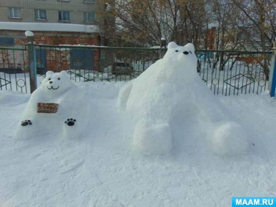 «Зимняя сказка». Фотоотчет о конкурсе зимних участков