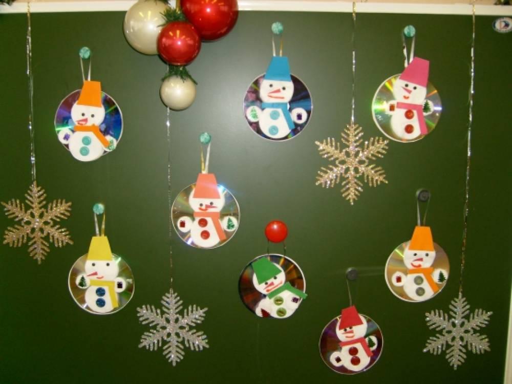 Новогоднее оформление для детей своими руками