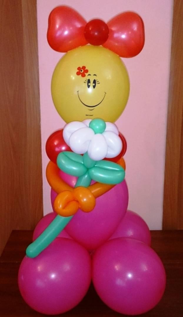 Лица из шариков своими руками