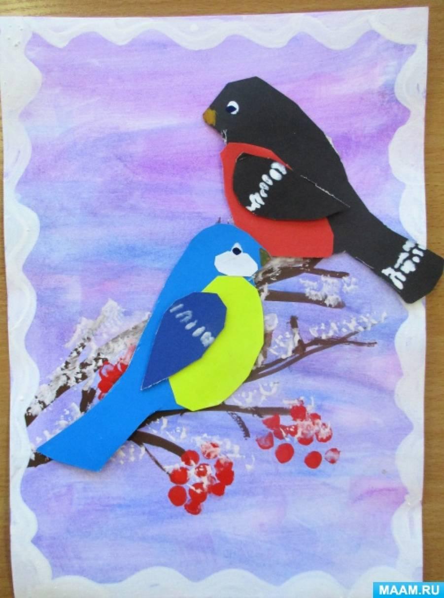 Поделка птицы зимующие 84