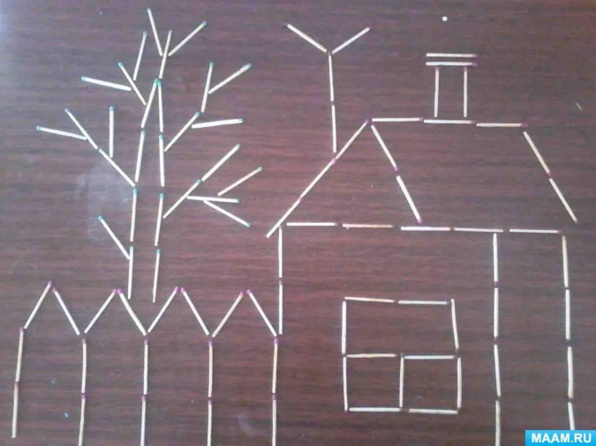 Поделки из спичек для начальной школы