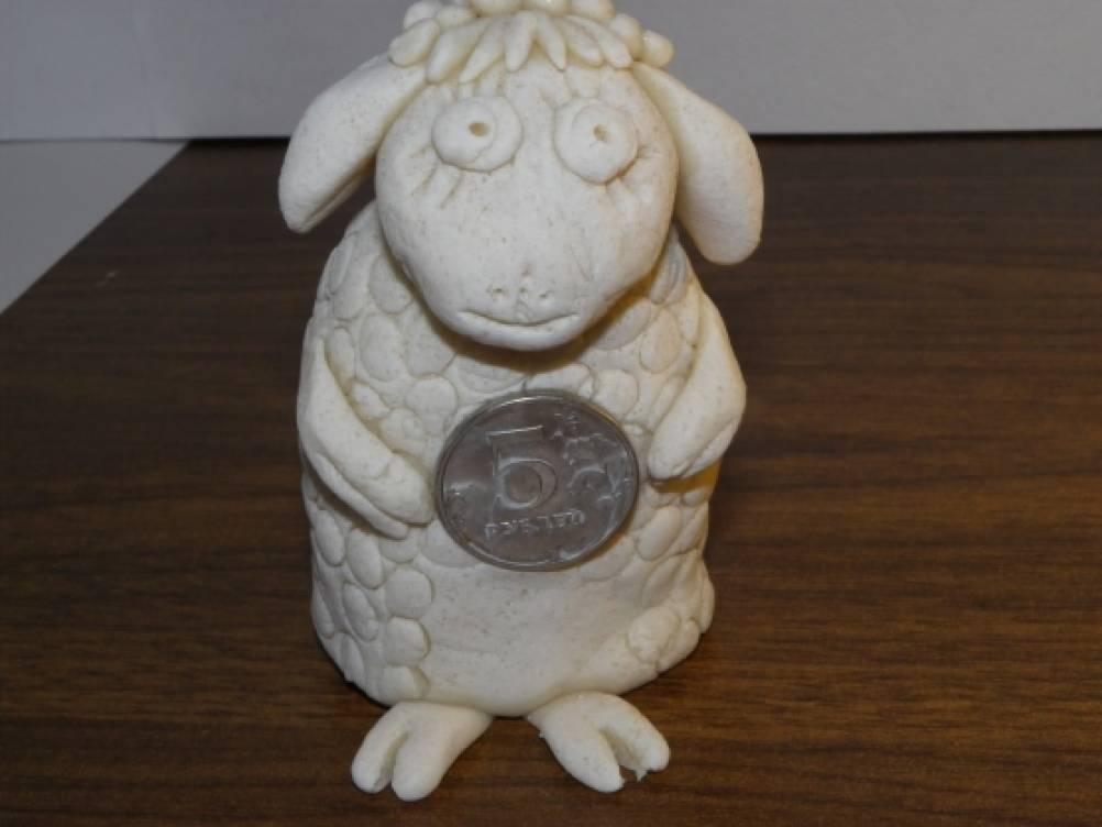 Мастер-класс «Лепка новогодних овечек»