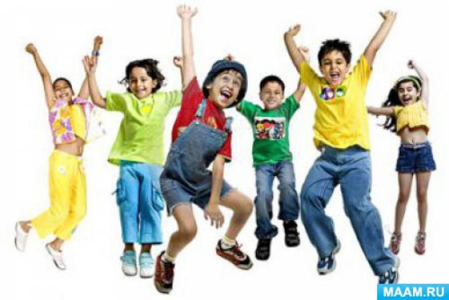 Сценарий флешмоба для дошкольников «Танцуем вместе»