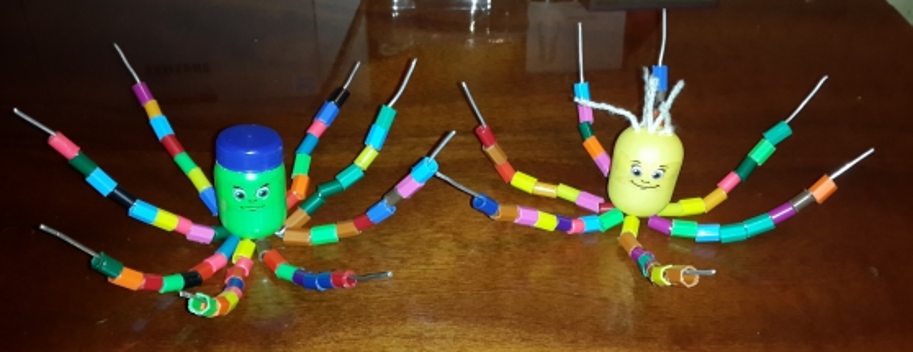 «Чудный осьминог». Игра на развитие мелкой моторики рук