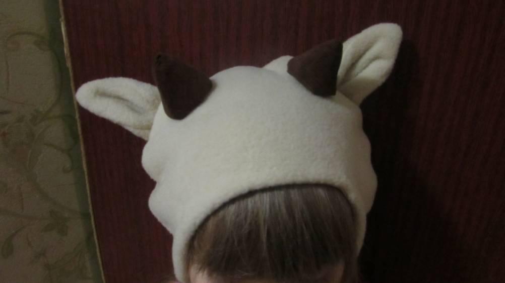 Как сделать шапочку козленка