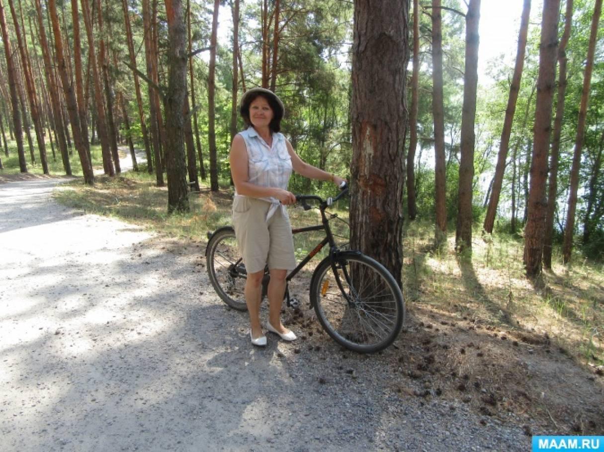 На велосипеде я тоже умею кататься! Фото с комментариями