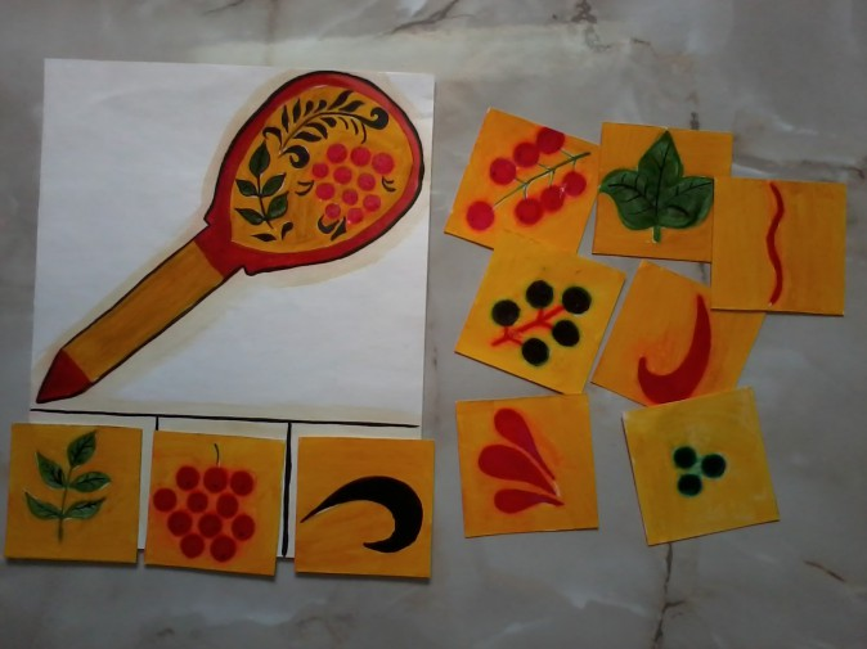 знакомство детей с народно прикладным искусством