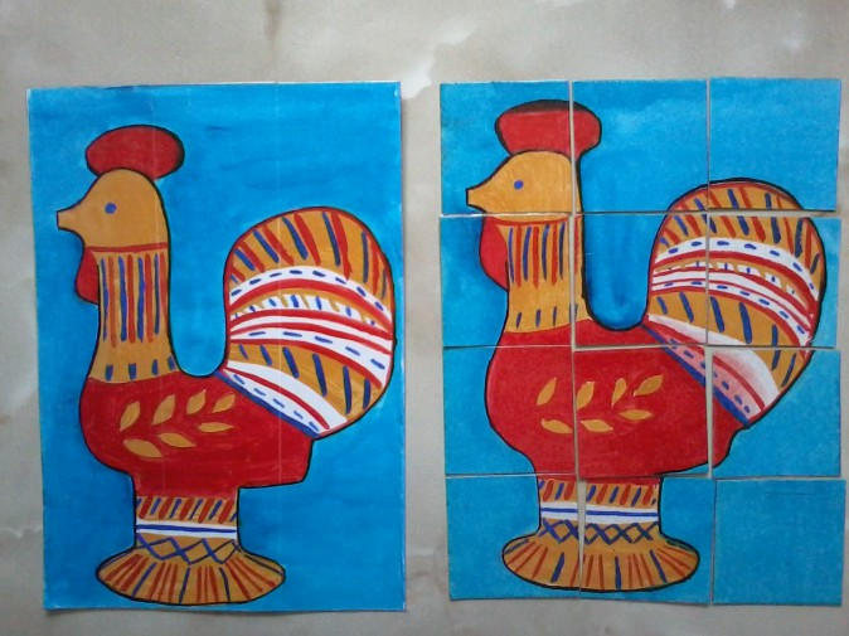 знакомство дошкольников с народным декоративно прикладным искусством