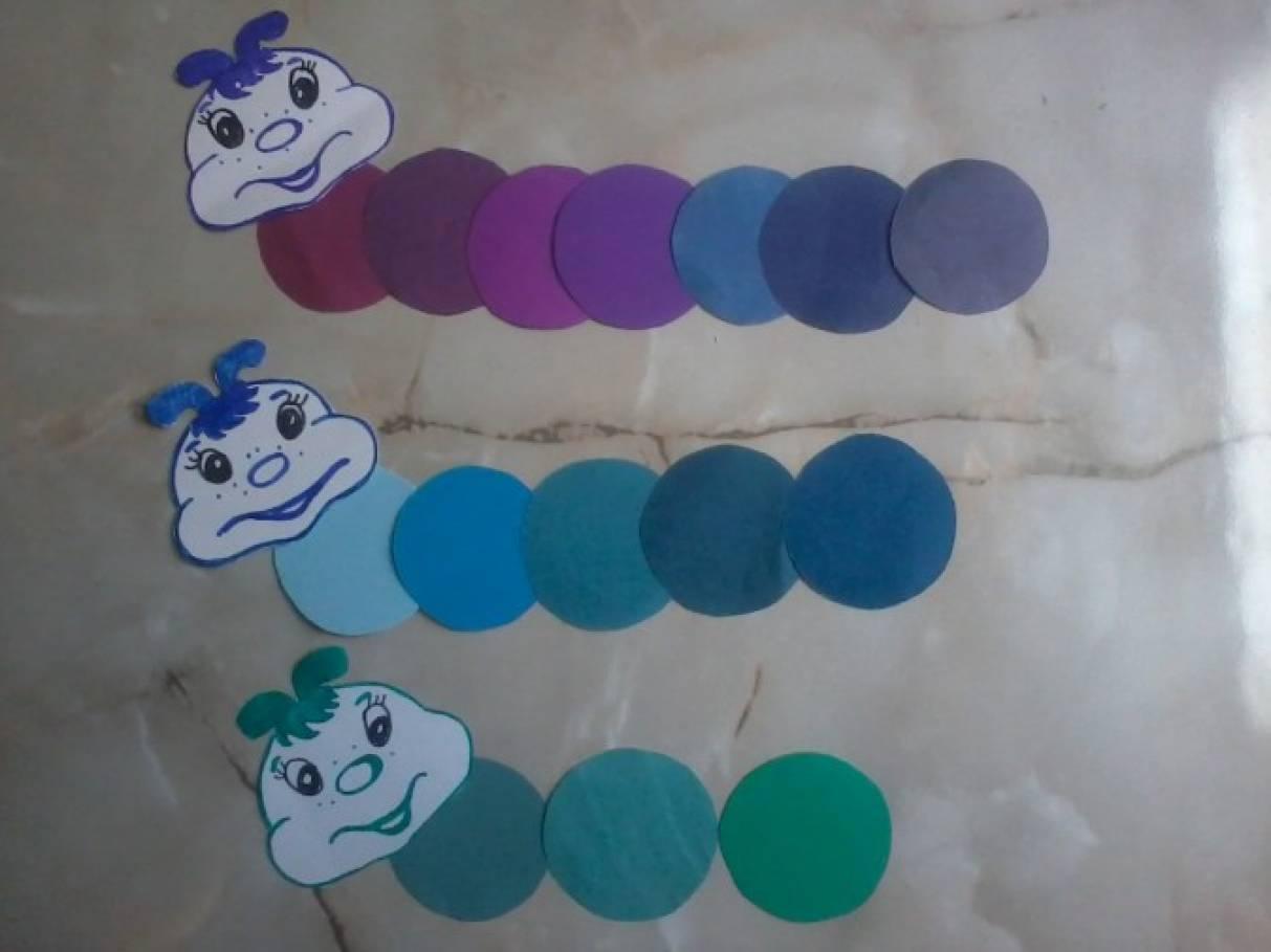 игры по знакомству с цветом